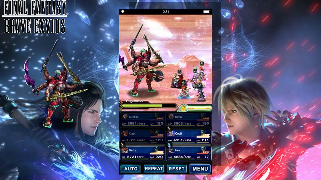 Final Fantasy Brave Exvius - All Series Protagonist CG