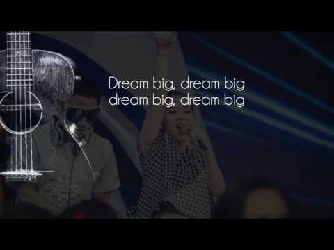 Syahrini feat. Kevin Bun - Dream Big (Official Lyric Video)
