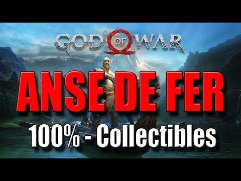 GOD OF WAR - ANSE DE FER : 100% Collectibles