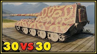 Jagdpanzer E-100 - 30 VS 30 - 11,3K Dmg - World of Tanks Gameplay