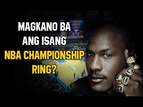 Magkano Ba Ang Isang NBA CHAMPIONSHIP RING