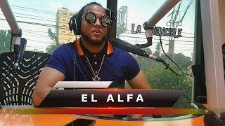 La Real entrevista con el Alfa el Jefe   en El Choke de las 8   KQ04.5