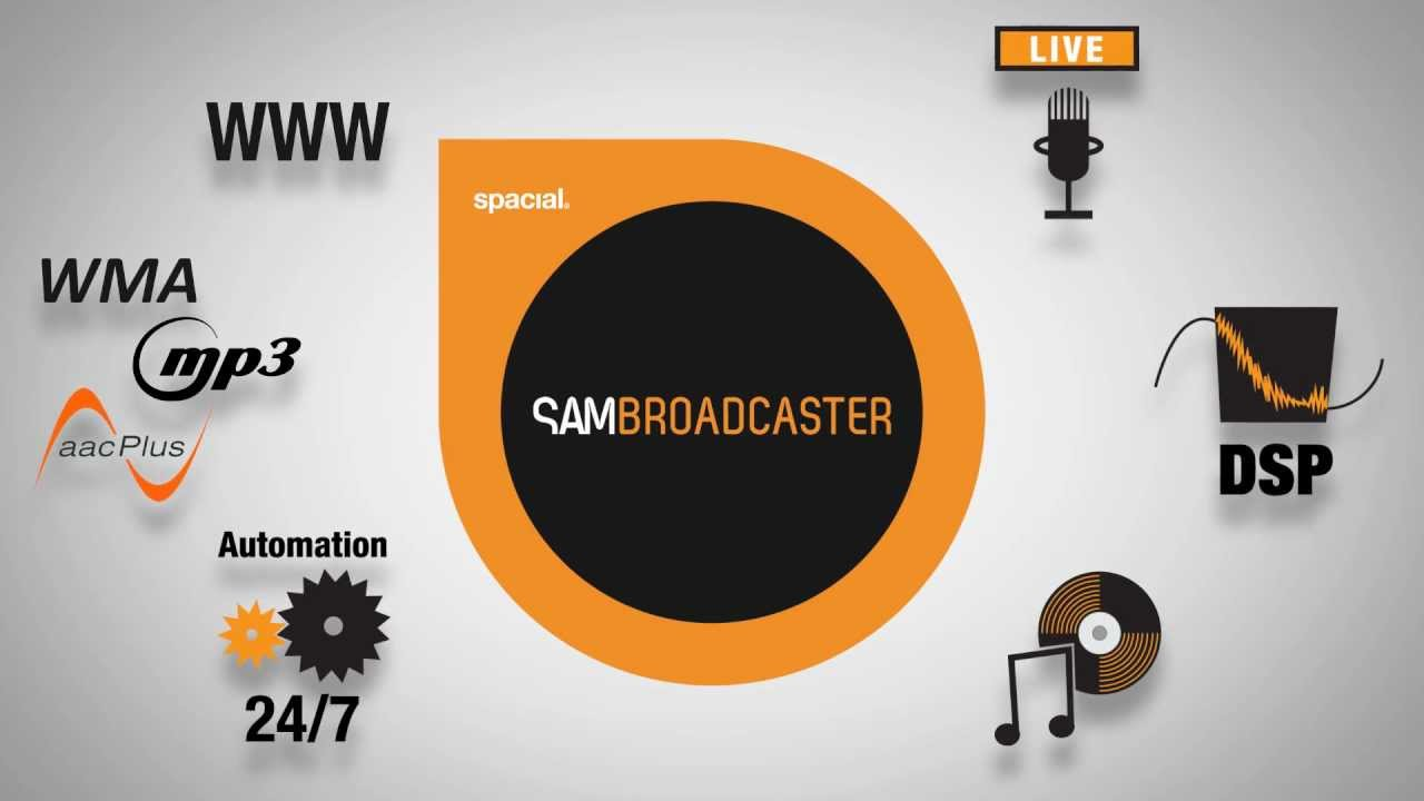 SAM Broadcaster Overview - YouTube