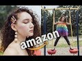 RAINBOW FASHION EDITORIAL PHOTOSHOOT USING AMAZON CLOTHING PT. 2