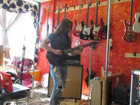 Guitar clinic with Alex Campbell live at Sixx Gun Music