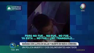 LA ANGUSTIA DEL POLICIA QUE NO PUDO SALVAR A SU COMPAÑERO