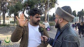 Diyarbakır'lı Kadir Ahsen TV Muhabirine Çatarsa / Ahsen TV