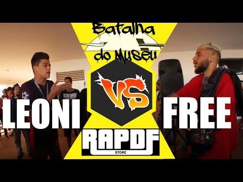 FREE vs LEONI  BATALHA DE RAP - MUSEU 1 FASE EDIÇÃO 311