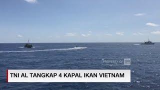 Detik-detik Penangkapan 4 Kapal Pencuri Ikan oleh TNI AL