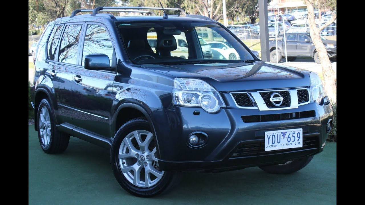 b5579 2010 nissan x trail tl t31 auto 4x4 walkaround. Black Bedroom Furniture Sets. Home Design Ideas