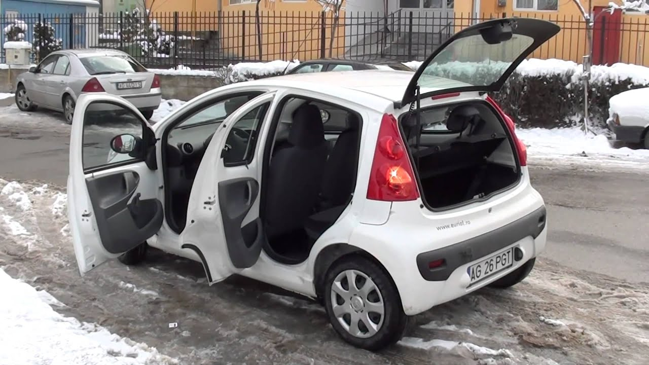 peugeot 107 drive test - youtube