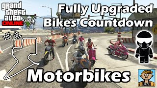 Fastest Motorbikes (2015) - Best Fully Upgraded Bikes In GTA Online