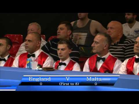 England V Malta - World Eightball Pool Championships 2015
