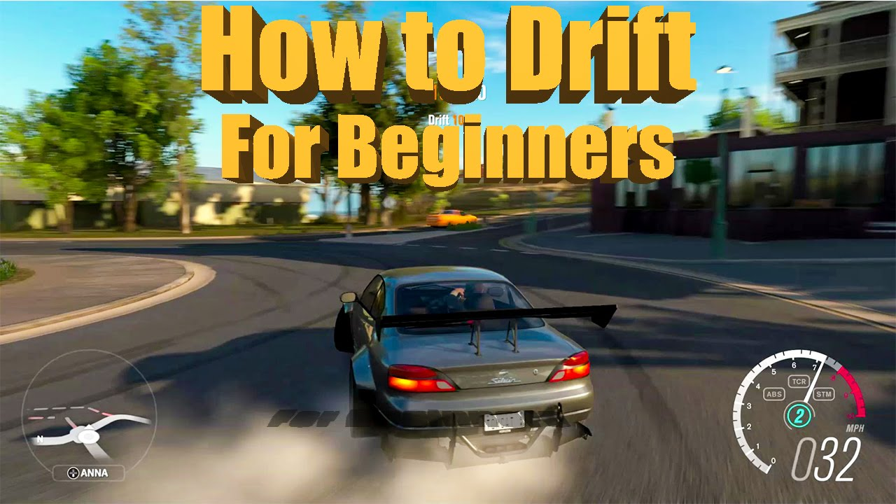 Forza Horizon 3 HOW TO DRIFT For Beginners