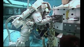 NASA Video: Animation of Aug  19 Space Station Spacewalk