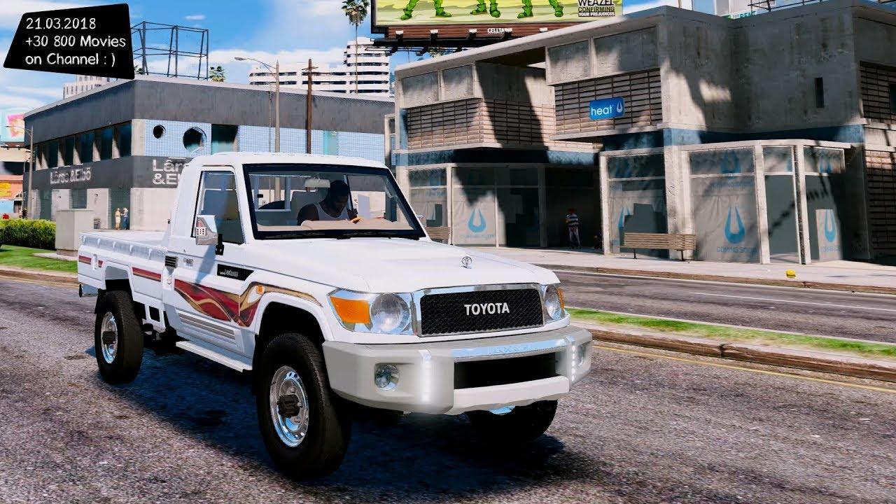2017 Toyota Land Cruiser v6 Grand Theft Auto V M G V A  MODs Gta5-mods