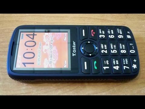 Gstar 008 Телефон с большими кнопками (Бабушкафон)! Распаковка и обзор!