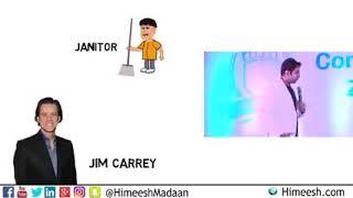 Jim Carrey, story of an ordinary guy having big dream in life