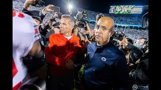 Highlights from Penn State coach Franklin's emotional press conference after loss to Ohio State