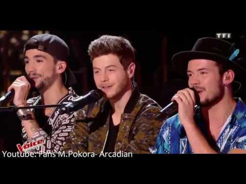 The Voice: Portrait de la semaine Arcadian LIVE TON COMBAT +JB GOUPIL