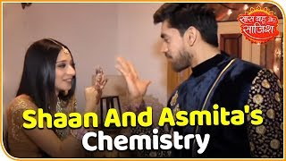 Take a look at Shaan and Asmita's chemistry off-screen. Watch Saas ...