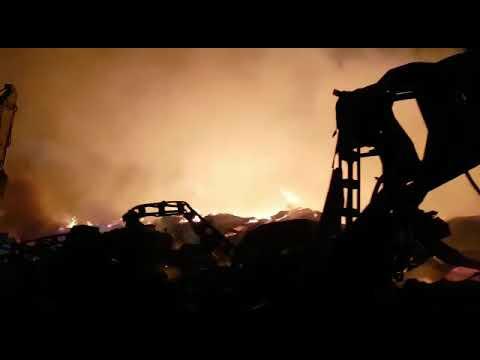 Sakarya Hendek Mobilya Fabrikası Yangını