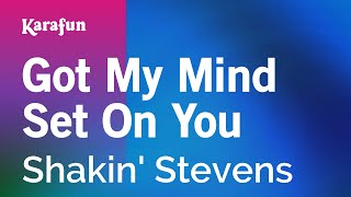 Karaoke Got My Mind Set On You - Shakin