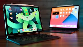 iPad Air 2020 vs iPad Pro 2020 Task By Task