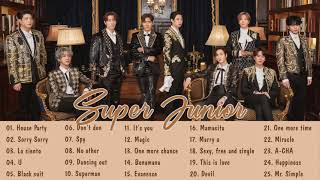 [Playlist] SUPER JUNIOR Best songs 2021 - 슈퍼주니어 최고의 노래 모음 - House Party