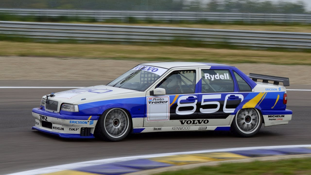 Racing Cars Hd Live Wallpaper Volvo 850 Btcc Ex Rydell Track Action Amp On Board Youtube