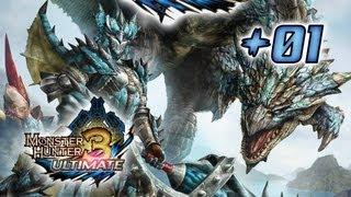 Let's Play Monster Hunter 3 Ultimate - #01 Quêtes Niveau 1 étoile, partie 1