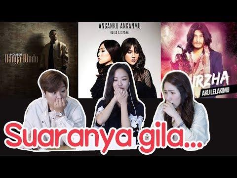 [REAKSI KOREA]LAGU INDONESIA/Andmesh-Raisa-Isyana-Virzha/강력추천 인도네시아 노래 베스트3