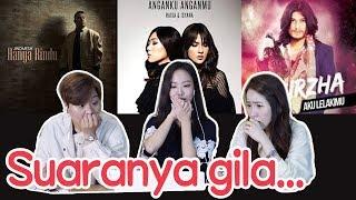 [reaksi Korea]lagu Indonesia/andmesh Raisa Isyana Virzha/강력추천 인도네시아 노래 베스트3