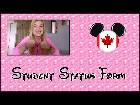 Ariana's DCP 2015 - Student Status Form