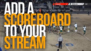 HOW TO ADD A WORKING SCOREBOARD TO YOUR LIVE STREAM - Live Score App screenshot 1