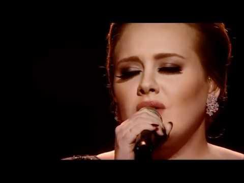 Adele - Someone Like You (Lyrics) live from Brit Awards 2011