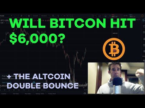 Will Bitcoin Break $6K? Filling The Gap, Altcoin Double Bounce, Blockchain Ether - CMTV Ep63