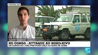Attaque au Nord-Kivu en RD Congo : l'ambassadeur italien et 2 autres personnes tuées