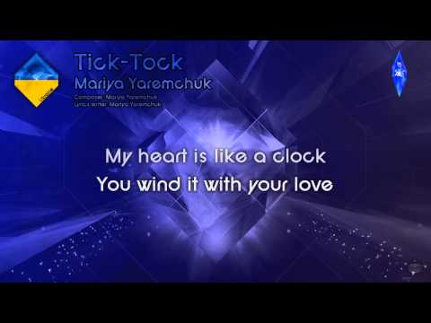"Mariya Yaremchuk - ""Tick-Tock"" (Ukraine) - [Karaoke version]"