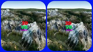 Aiguille Du Midi 3d Vr Video Stereogram Magic Eye Video Tour With Google Earth   French Alps
