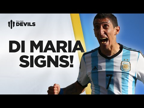 World Class! | Di Maria Signs For Manchester United! | Manchester United Transfer News