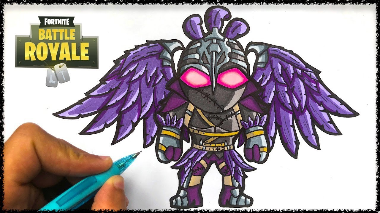 Comment Dessiner Ravage Fortnite Youtube