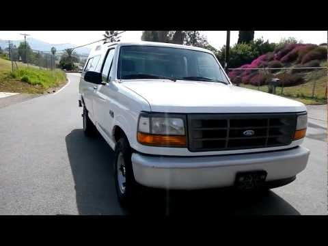 1 Owner 1995 Ford F-150 Pickup Truck 4.9L Manual A/C CLEAN & For Sale