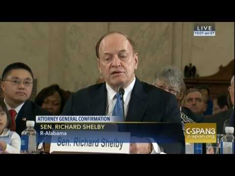 "Sen. Richard Shelby Lauds Sessions ""Extraordinary Character,' 'Intellect,' 'Integrity'"