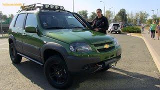 Обзор Chevrolet Niva Special Edition Review(Тринадцать лет назад назад, 23 сентября 2002 года GM-Avtovaz выпустило автомобиль, который изначально, в образе..., 2015-09-23T05:31:58.000Z)