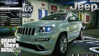 Jeep Grand Cherokee SRT 8 Series IV GTA V car mod tuning !! [ Soley911 ]