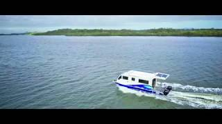 Trailerable Houseboat | Boat A Home