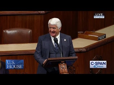 Ranking Republican Bishop Addresses the House, Urges Confirmation for Acting Secretary Bernhardt