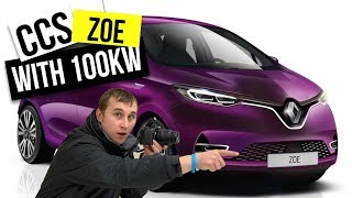 2019 Renault Zoe CCS and no more Q motor Zoe 🔌🔋🚗