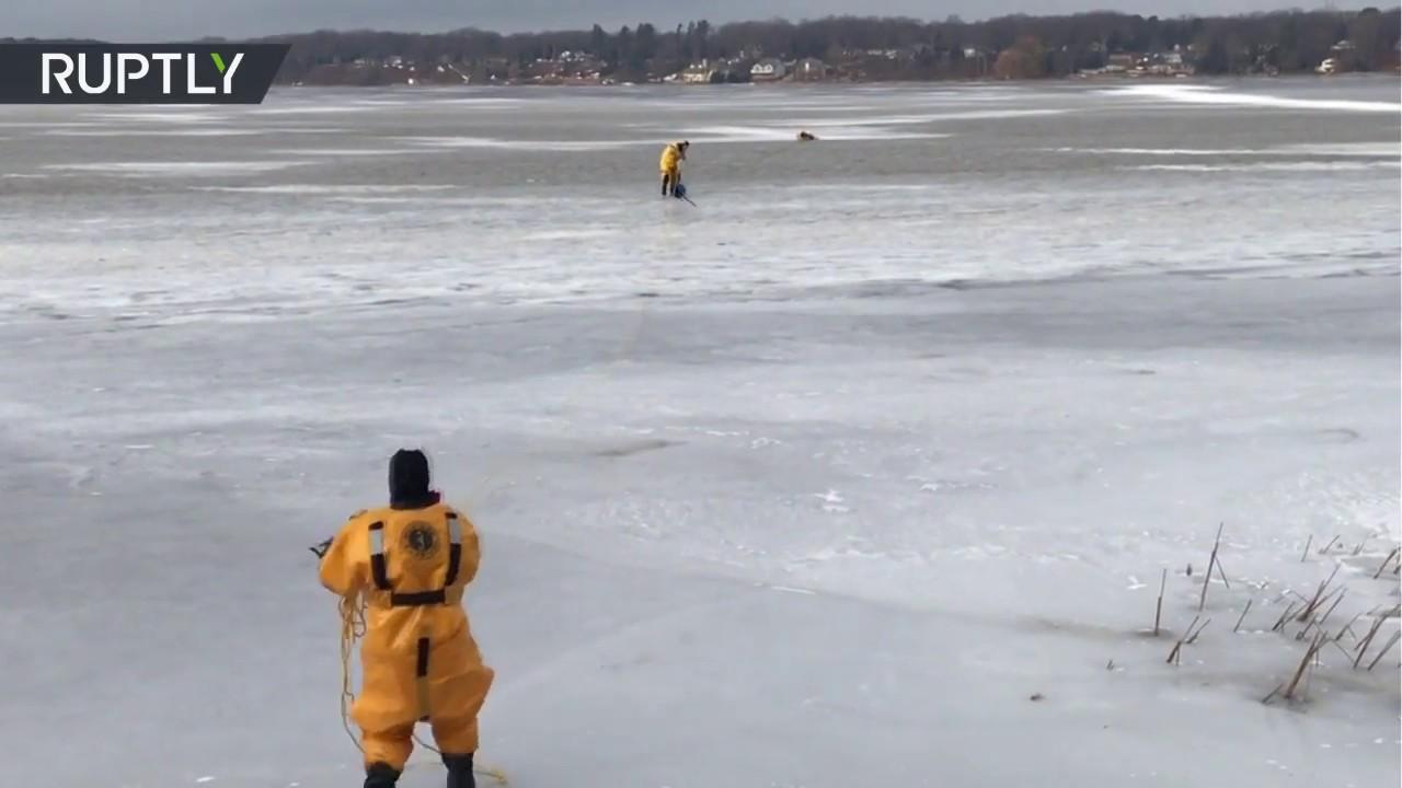 Resultado de imagen para rescate un lago helado